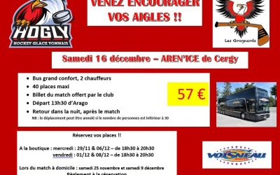 DEPLACEMENT MACTH VS CERGY LE 16/12/17